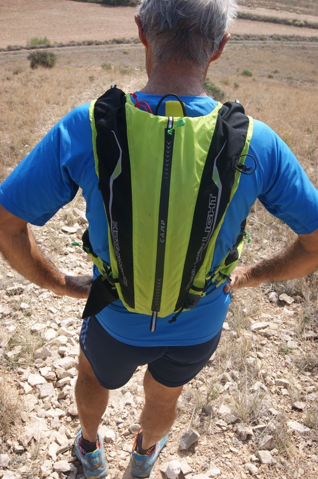 Test av trailryggsäcken Trail Vest Light, Camp